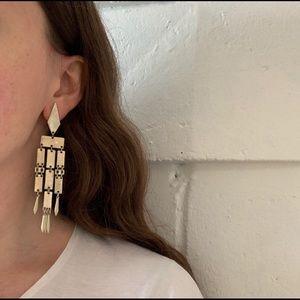 Vintage Brass Plated Earrings